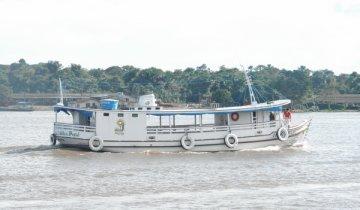 Confira o relato da primeira viagem missionária do nosso barco