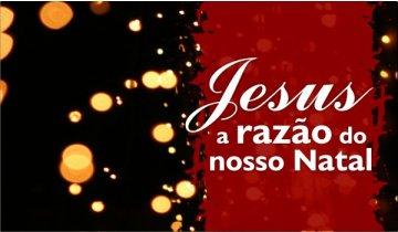 Compartilhe nas redes sociais que o centro do seu Natal é Jesus
