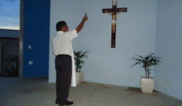 Na próxima terça é dia de missa na Capela Nossa Senhora de Pentecostes